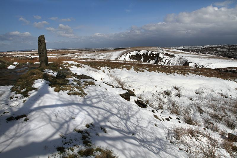Scar Hill in the snow