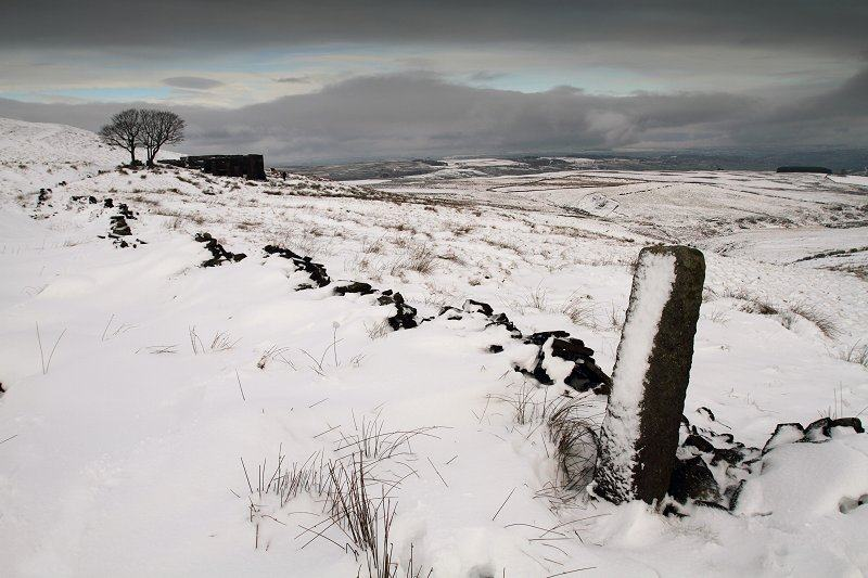 Top Withens in snow