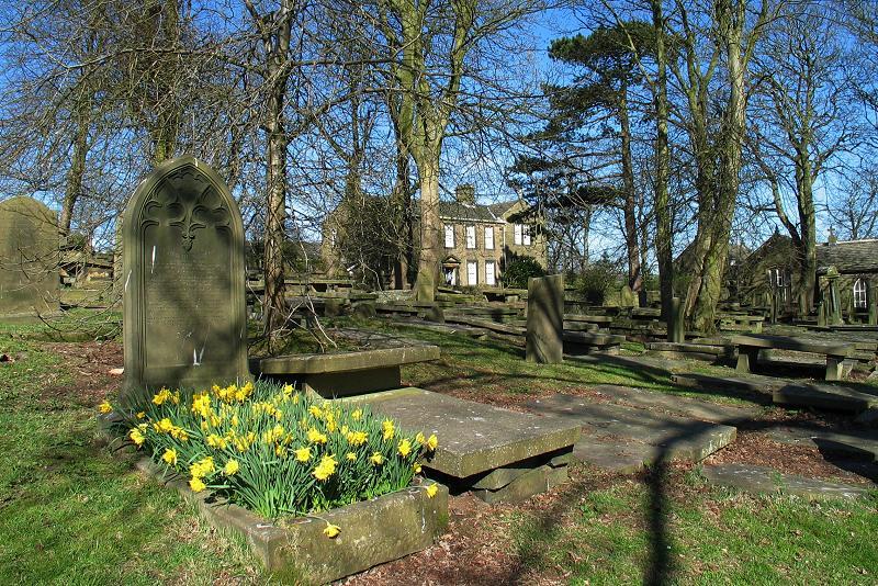 Haworth graveyard