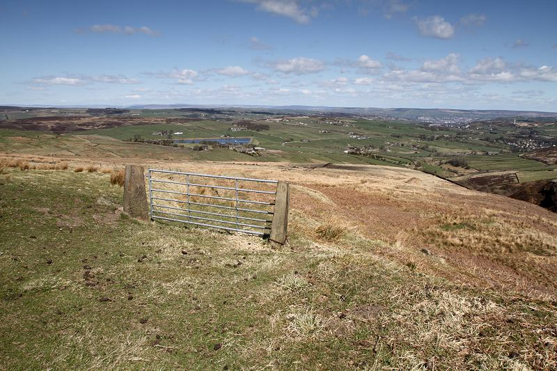 Oxenhope moor - gate