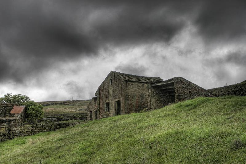 Rag Farm Oxenhope - in ruins