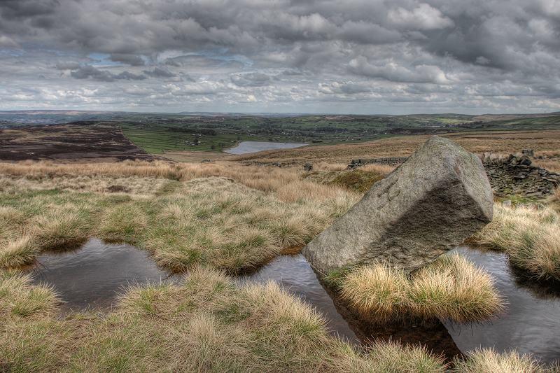Haworth, Oxenhope boundary stone