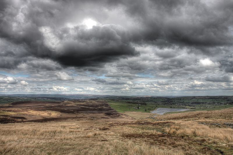 Looking towards Haworth and Oxenhope
