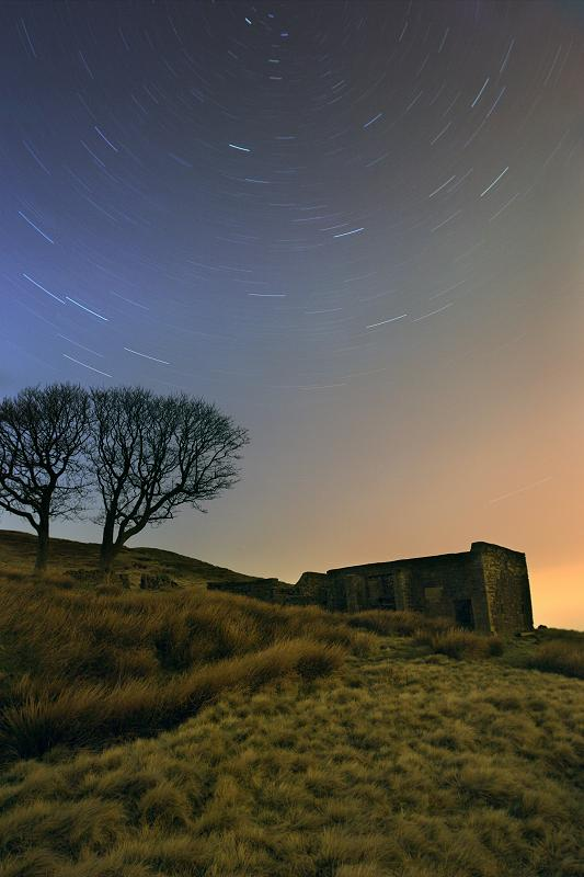 Top Withens star trails