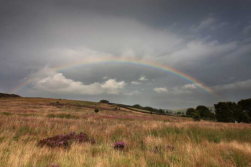 Rainbow at Penistone