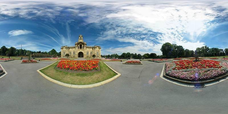 Cartwright Hall panorama