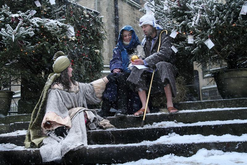 Nativity on Haworth Main St.
