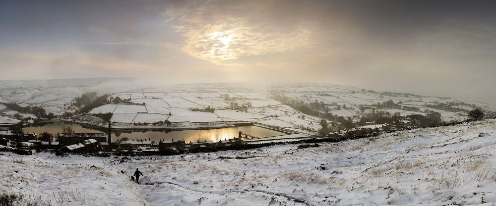 Leeming reservoir Oxenhope