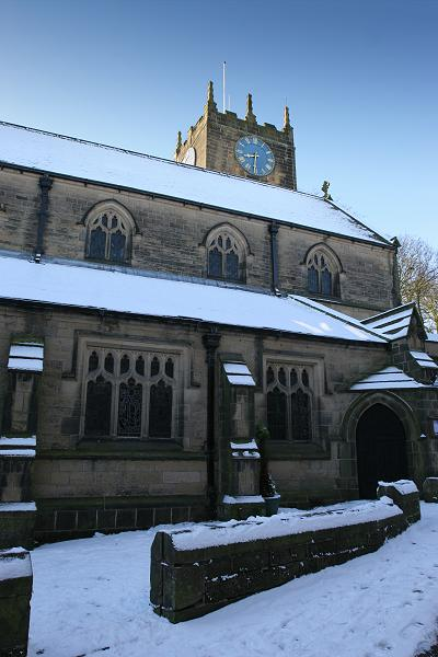 Haworth church