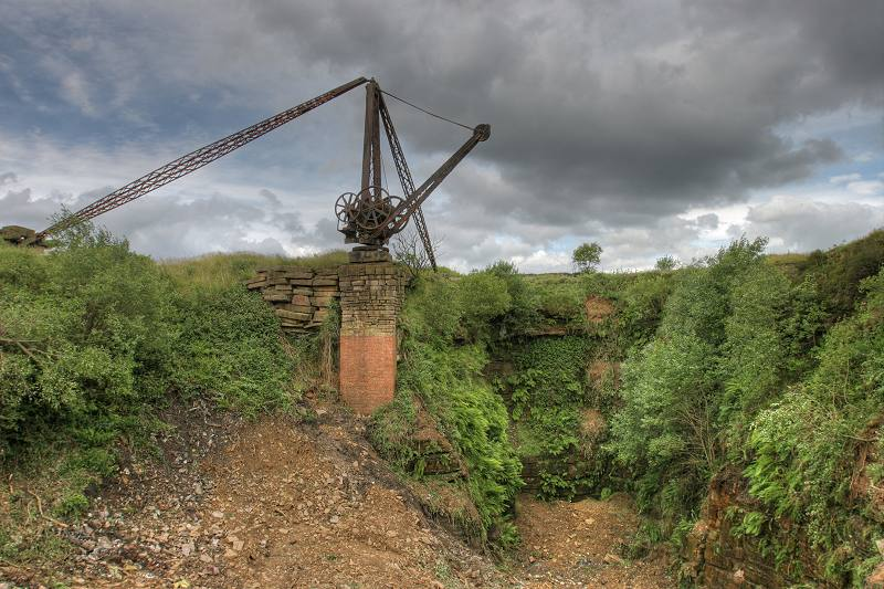 Steam Crane at Mount Tabor