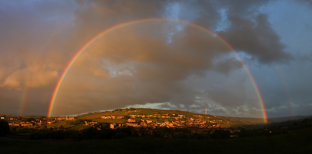 Rainbow over Brow