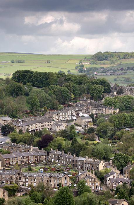 Haworth from Black moor
