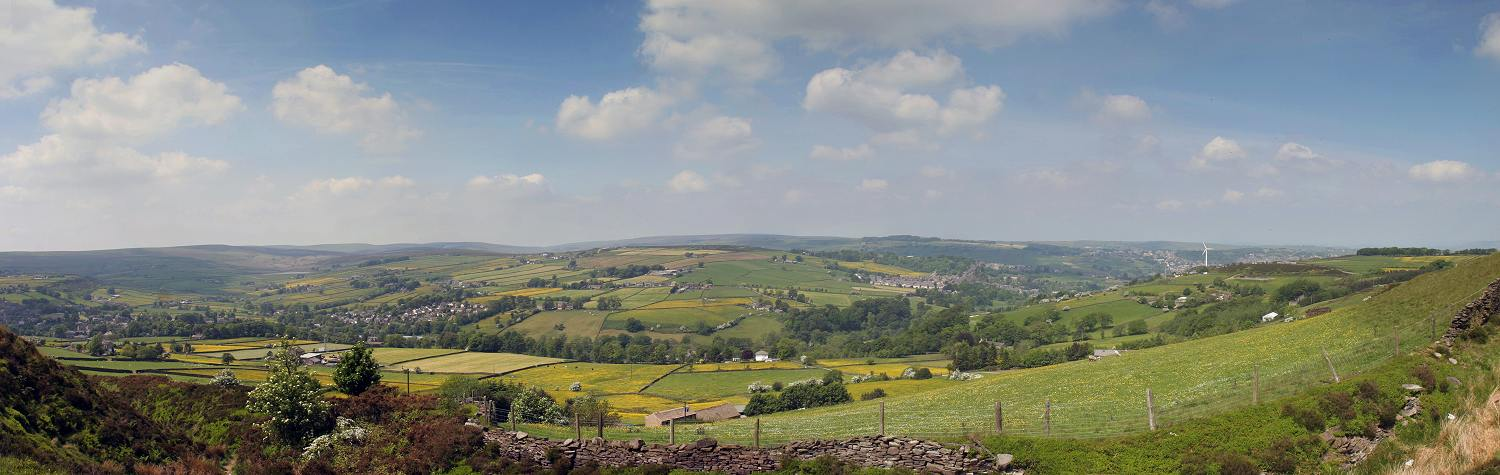 Panorama from Black moor