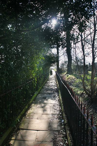 Footpath, Haworth