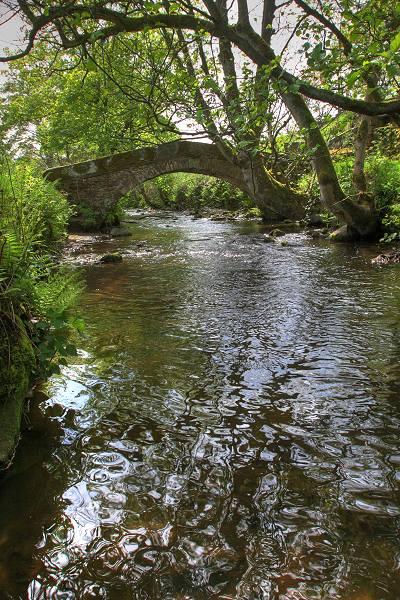 Donkey bridge near Oxenhope