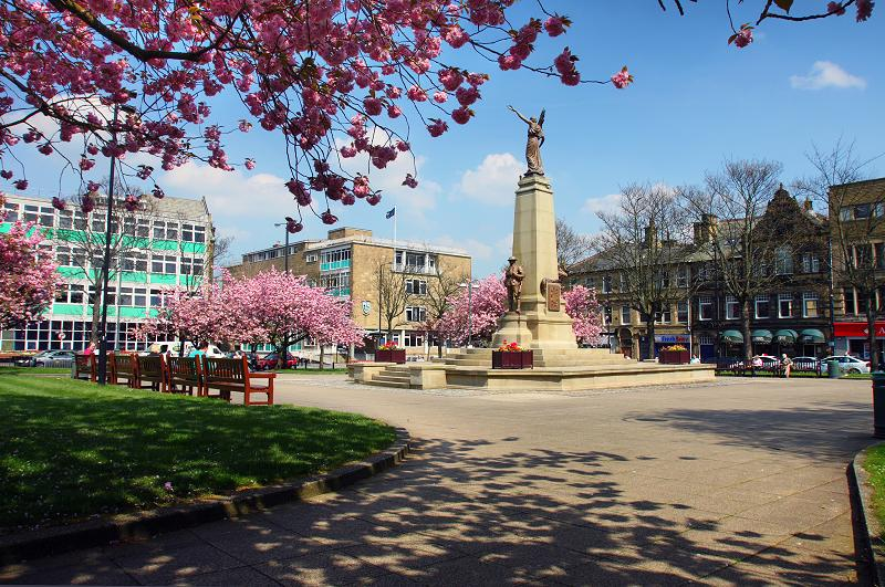 Keighley Town Hall Square