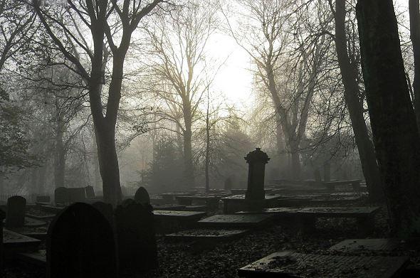 Graveyard mist
