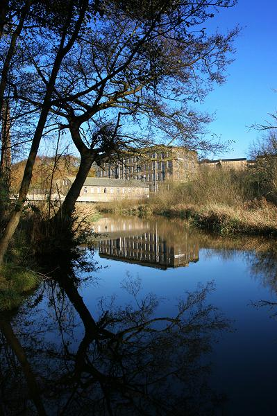 Ebor mill by day