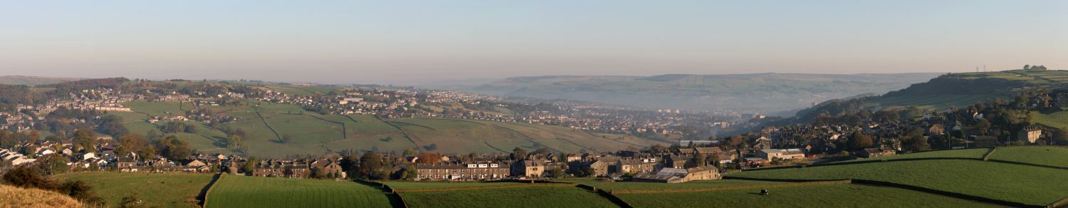 Keighley, Oakworth panorama