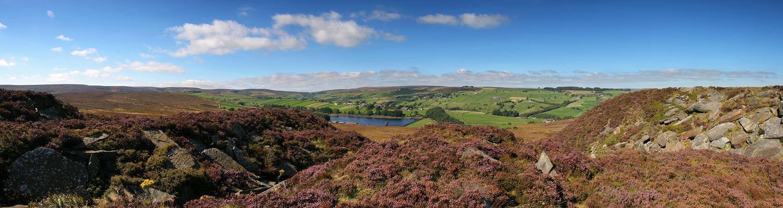 Penistone Hill - panorama
