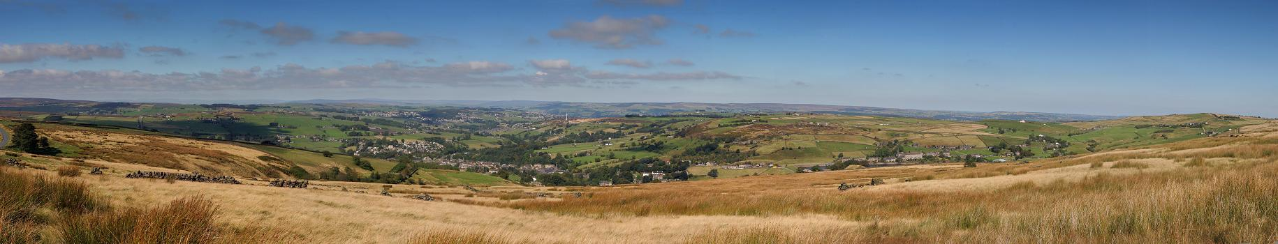 Haworth and Oxenhope panorama