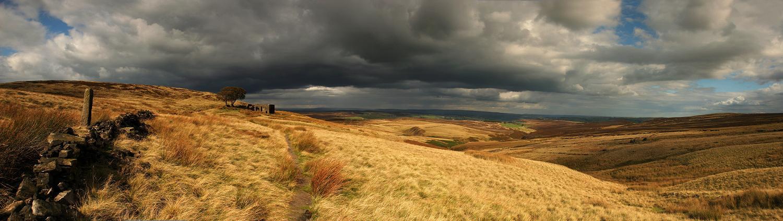 Top Withens panorama