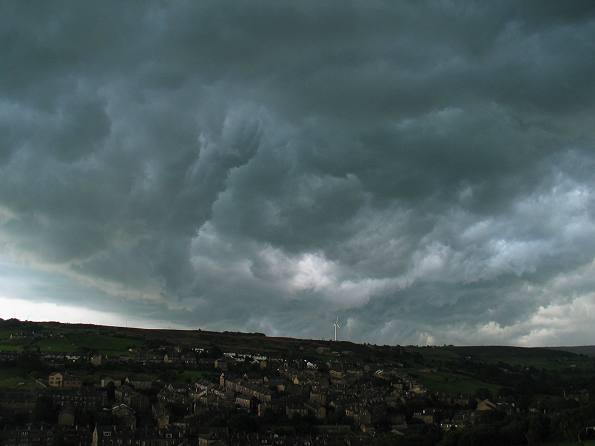 Storm clouds - Cumulonimbus