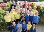 Haworth Primary School Gardening Club win award