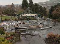 Haworth Central Park Bandstand